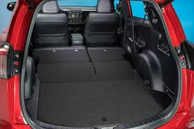 toyota corolla trunk dimensions 2016 toyota rav4 cargo space and utility options