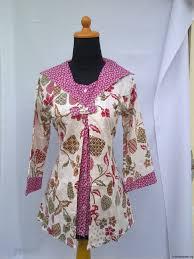 gambar model baju batik modern baju batik batik pinterest
