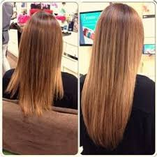 one hair extensions amazing before and after with hotheads color melt in hair