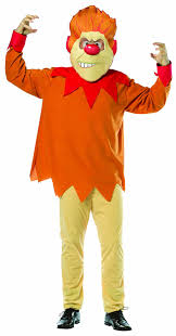 halloween costumes at amazon amazon com rasta imposta mr heat miser costume orange one size