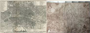 Tom Clancy S The Division Map Size Assassin U0027s Creed Unity Map Is Similar In Size To The Actual Map Of