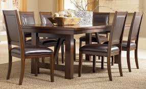 dining room tall dining chairs ashley porter round dining table