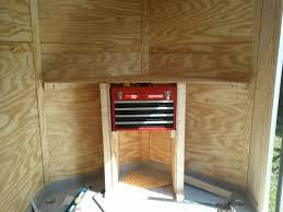 v nose trailer cabinets v nose enclosed trailer cabinets office table