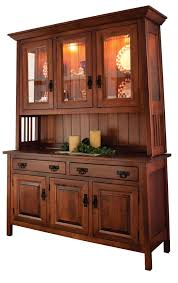 mission style china cabinet amish dining room mission hutch buffet server china cabinet solid