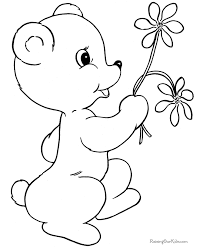 Valentine U0027s Flower Coloring Pages
