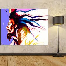 chambre bob marley photo wall toile hd d impression peinture à l huile chanteur
