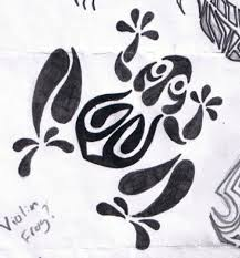 tribal water frog tattoo drawing photo 2 photo pictures and