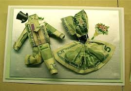 wedding gift dollar amount money as a gift origami money for a wedding gift gift wrapping