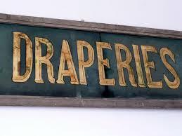 glass painted shop sign c 1920 interior design