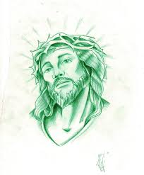 jesus tattoo sketch by xxxgrapejuicexxx on deviantart jesus