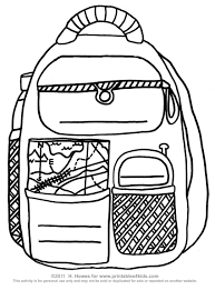 back to printable backpack activity printables for kids