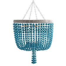 bead chandelier terio coastal turquoise bead chandelier everything turquoise
