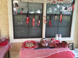 decorations for the friday the 13th birthday party not bad for