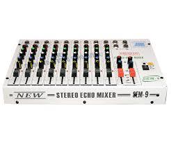 medha d j plus professional 9 channel stero echo mixer amazon in