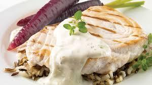 boursin cuisine recette darnes de marlin bleu au boursin recettes iga barbecue poisson