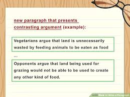 how to write a paragraph with sample paragraphs wikihow