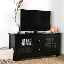Black Tv Cabinet With Drawers Amazon Com Walker Edison 53