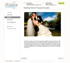 wedding planning services agreement for event ording planning services planner bridal business