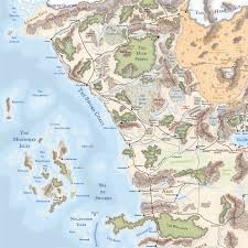 Forgotten Realms Map What If King John U0027s British Isles Replaced The Moonshaes In