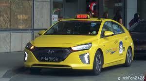 new toyota cars singapore comfortdelgro brand new 2017 hyundai ioniq taxi spotted in