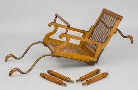 Folding Armchair Antique Invalid Armchairs Victorian Invalid Folding Armchair