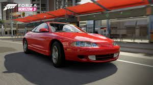 mitsubishi eclipse gsx rev your engines with the forza horizon 3 mountain dew car pack