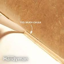 Silicone For Bathtub Bathtub Caulking Tips Family Handyman