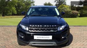 range rover dark blue used land rover range rover evoque 2 2 sd4 pure 3dr tech pack