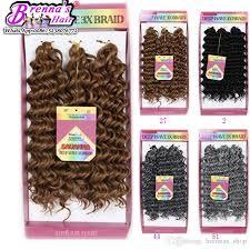 2017 freetress deep twist tree braids loose wave crochet braids