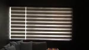 motorized zebra blinds youtube