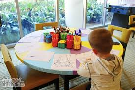 Kids Coloring Table The Play Room The Kids Will Actually Choose Over The Parks