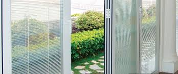 Single Patio Doors With Built In Blinds Impressive French Doors With Built In Blinds With Pella French