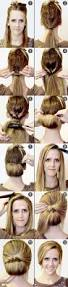 Long Hairstyles Easy Updos by 15 Cute Hairstyles Step By Step Hairstyles For Long Hair