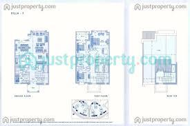 six towers villas floor plans justproperty com