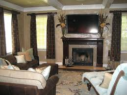 faux fireplace mantel tv stand ideas with above custom mount