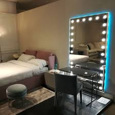 light up wall mirror lit wall mirrors unica to light up the bedroom
