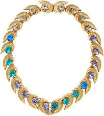 coloured crystal necklace images Coloured crystal necklace shopstyle uk jpg