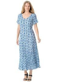 women u0027s plus size petite short sleeve crinkle dress