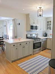 White Cabinets Kitchens Kitchen Cabinet Paint Color Antique White By Sherwin Williams