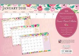 where to buy a calendar bonnie 2018 12 x 17 inch desk pad calendar fashion designer
