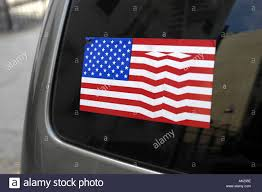 Free American Flag Stickers American Flag Sticker On Car Window Stock Photo Royalty Free