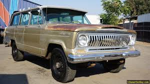 jeep classic jeep sj patina paint project 1967 wagoneer 4x4 classic suv for