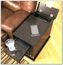 conference table power outlets end tables with electrical outlets end table built power charging