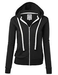 zip up sweater mbj womens active zip up fleece hoodie sweater jacket at