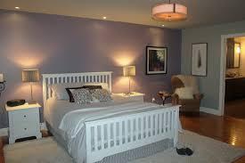 chambre grise et mauve chambre des maîtres gris bleu et mauve garon design