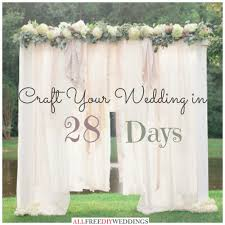 national wedding month craft your wedding in 28 days weddings