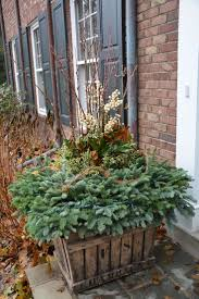 Christmas Decorating Ideas Outdoor Planters Pictures 105 Best Winter Containers Images On Pinterest Christmas
