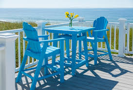patio furniture counter height chairs adirondack american