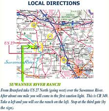 Local Map Local Map To Florida U0027s Suwannee River Ranch Hunting Preserve