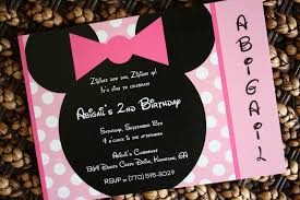 minnie mouse clubhouse invitations free printable invitation design